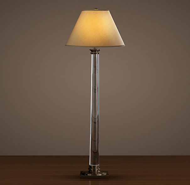 Chelsea Column Floor Lamp Bronze