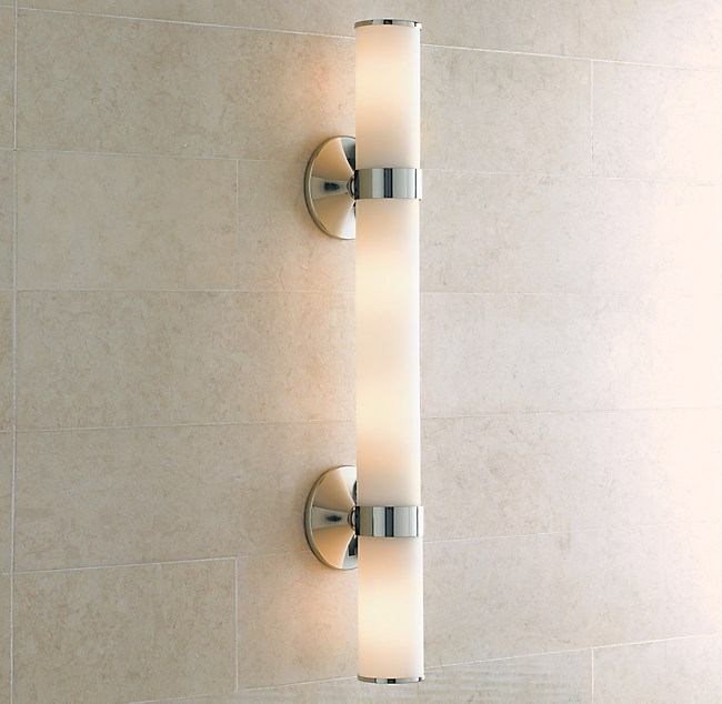 Bathroom Lighting Needs bathroom light fixtures: from sleek to shabby chic - linda merrill