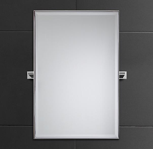 Modern traditional pivot mirror for Pivot mirrors for bathroom