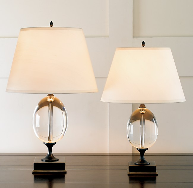 Empire Egg Table Lamp