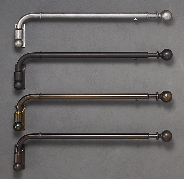 Swing Arm Curtain Rod Restoration Hardware