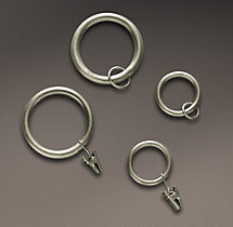 Classic Drapery Rings (Set of 7)