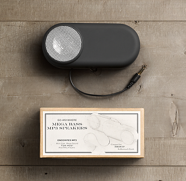 Go Anywhere MP3 Speakers