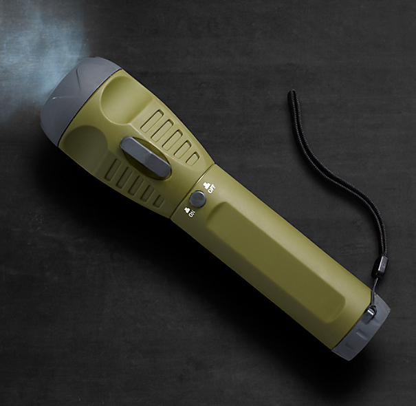 Pull-Cord Emergency Flashlight
