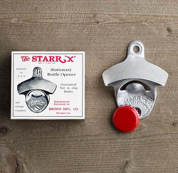 Starr® Wall-Mount Bottle Opener