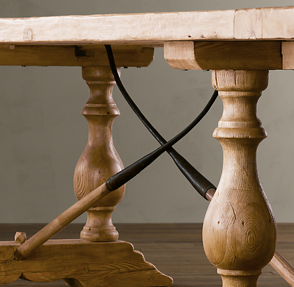 Vintage Farm Tool Dining Tables