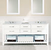 Hutton Double Washstand Sink Base
