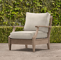 Santa Monica Luxe Lounge Chair Cushion