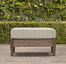 Santa Monica Luxe Ottoman Cushion