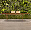 Santa Monica Rectangular Extension Dining Table