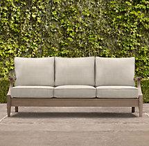 """78"""" Santa Monica Luxe Sofa Cushion"""