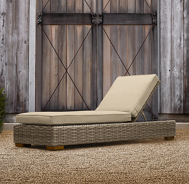 Antigua Armless Chaise Cushions