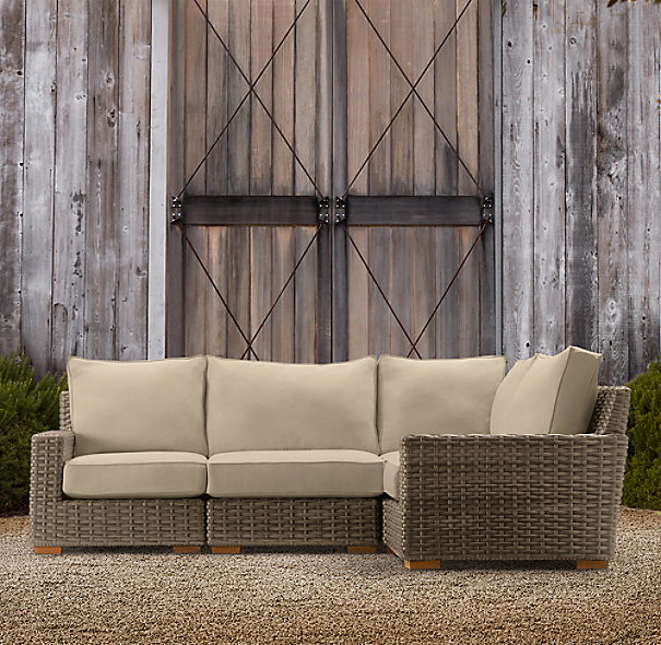 Antigua L-Sectional Cushions Set