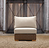 Antigua Armless Chair Cushion