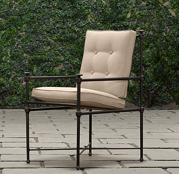 Catalina Armchair Painted Metal