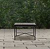 Catalina Coffee Table Painted Metal