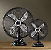 Allaire Desk Fan Black