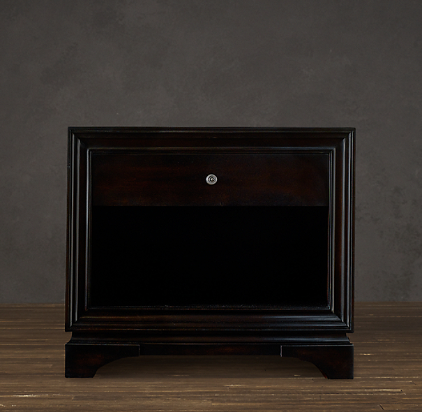 "30"" Portman 1-Drawer Open Nightstand"