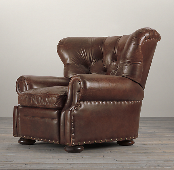 Churchill Leather Recliner