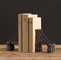 Brooklyn Bridge Bookends (Set of 2)