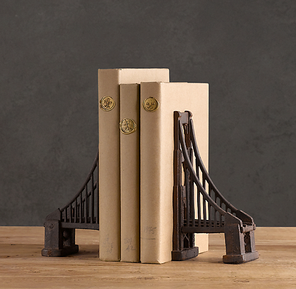 Golden Gate Bridge Bookends (Set of 2)