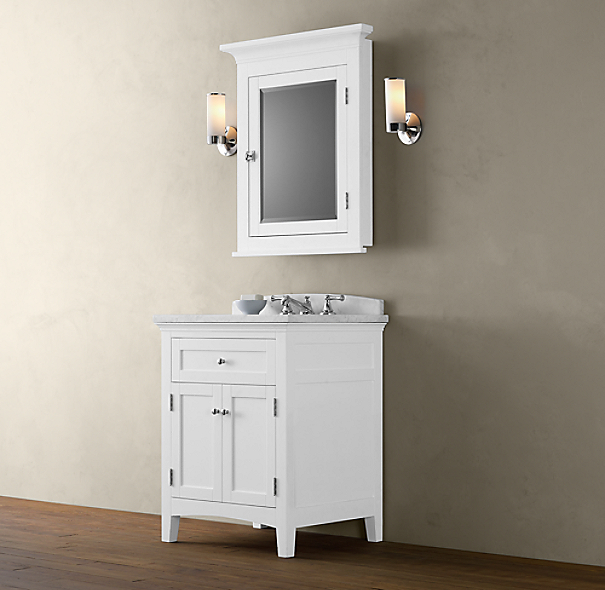 Cartwright Powder Room Vanity Sink Base