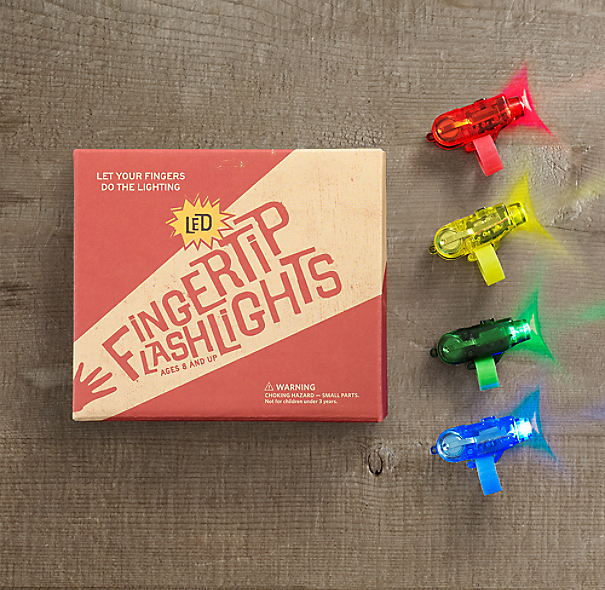 Fingertip Flashlights