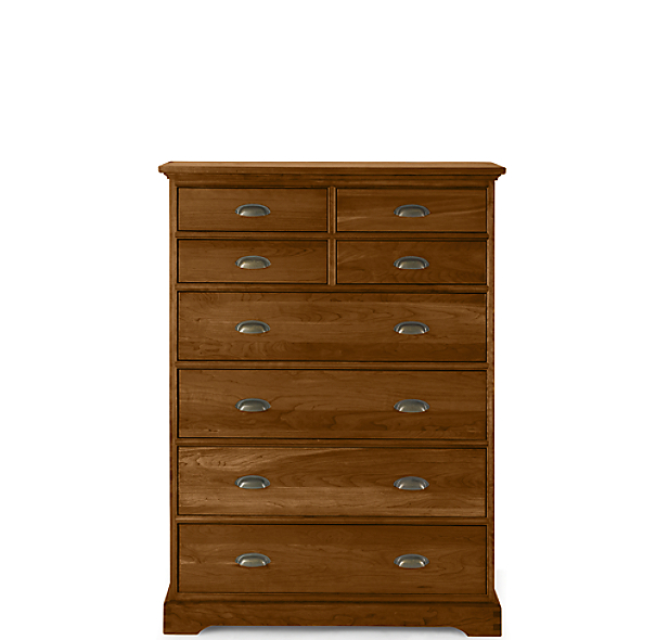 marston 8 drawer tall dresser light cherry. Black Bedroom Furniture Sets. Home Design Ideas