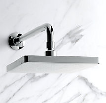 "8"" Square Wall-Mount Rain Showerhead"