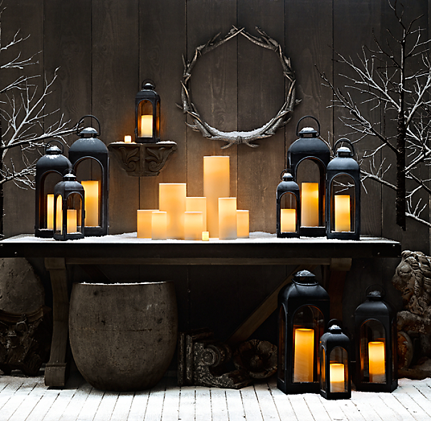 Indoor/Outdoor Flameless Candles