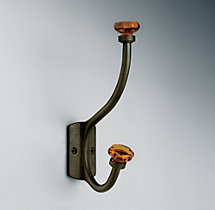 Traditional Amber Glass Hook