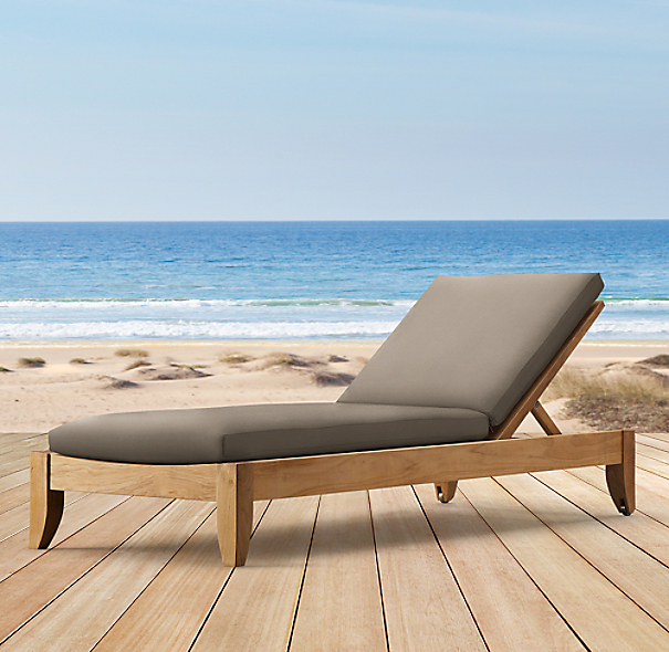 Santa Barbara Armless Chaise Cushion
