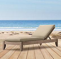 Santa Barbara Armless Chaise