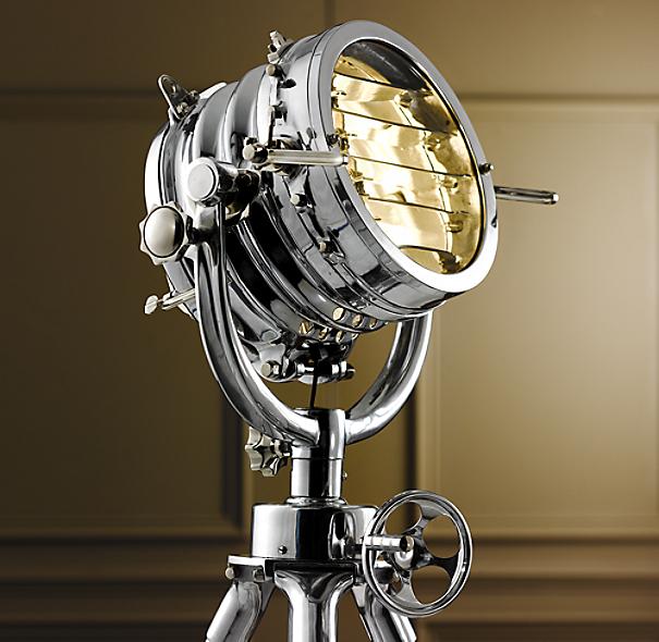 Restoration Hardware Festoon Lighting: Royal Master Sealight Floor Lamp