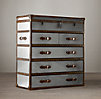 Mayfair Steamer Chest Brushed Steel