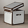 Mayfair Steamer Cube Brushed Steel