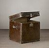 Mayfair Steamer Cube Vintage Cigar Leather