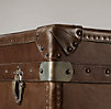 Mayfair Steamer Low Chest Vintage Cigar Leather