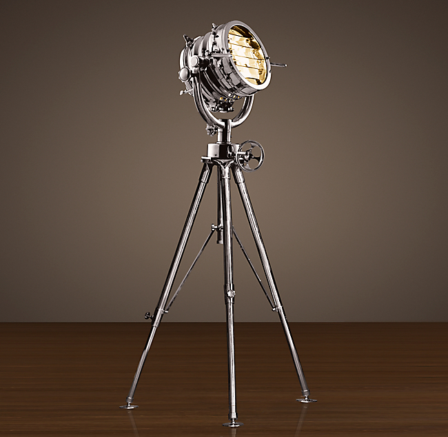 restoration hardware master sealight lamp ebay. Black Bedroom Furniture Sets. Home Design Ideas