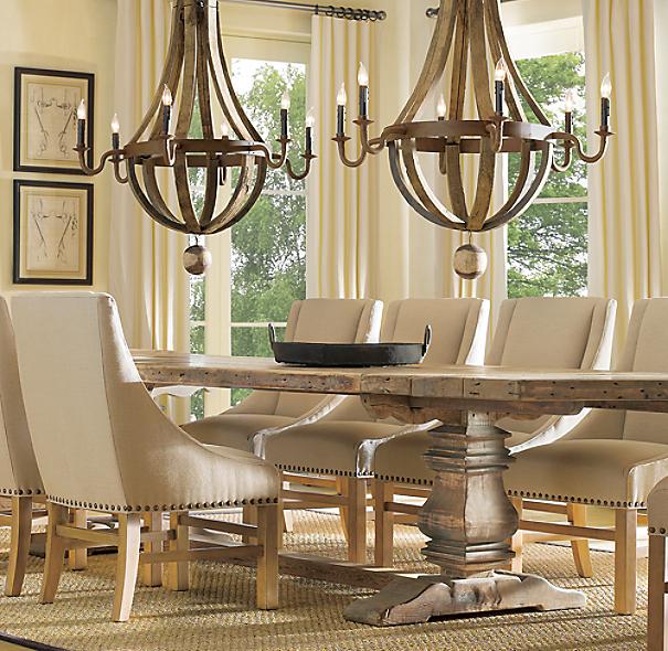 wine barrel chandelier 32