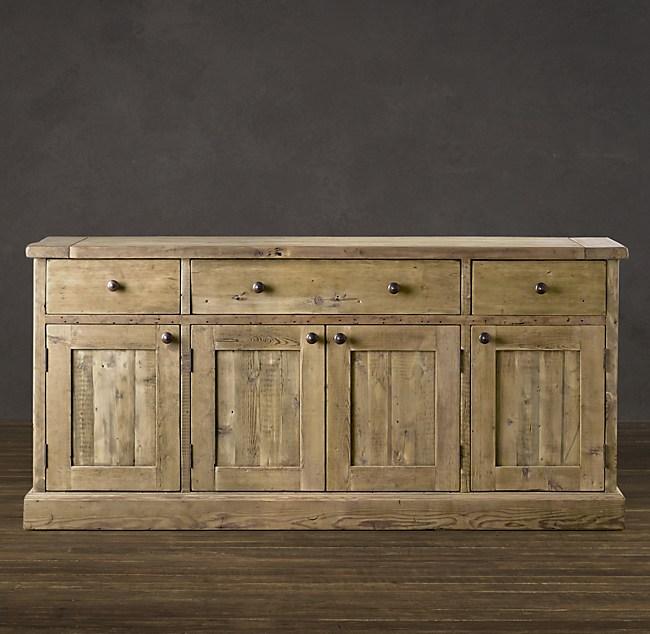 Salvaged Wood Sideboard