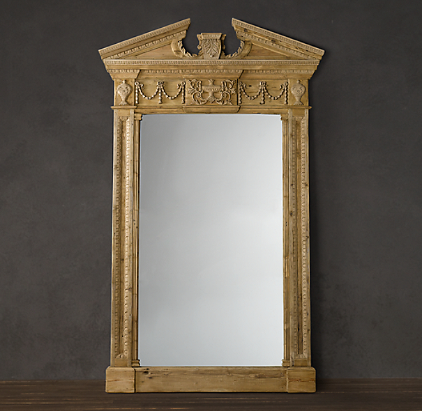 Entablature Mirror - Natural
