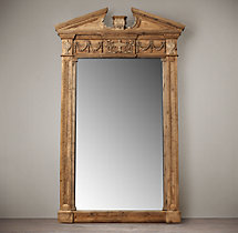 Entablature Mirrors - Natural