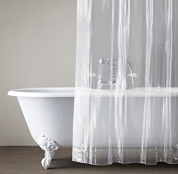 Clawfoot Tub Shower Curtain Ideas Transparent Shower Curtai