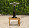 Deluxe Tabletop Propane Patio Heater Hammered Bronze