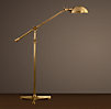 Rowan Pharmacy Task Floor Lamp Antique Brass