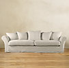 "90"" Camelback Slipcovered Sofa"
