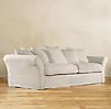 "111"" Camelback Slipcovered Sofa"