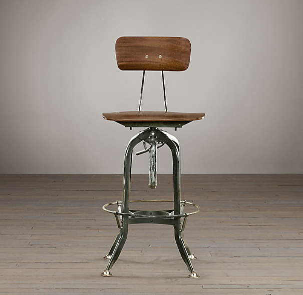 Vintage Toledo Bar Chair
