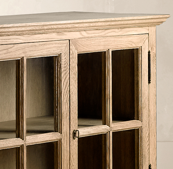 French Casement Low Cabinet